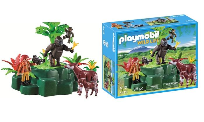 playmobil wild life toy set groupon. Black Bedroom Furniture Sets. Home Design Ideas