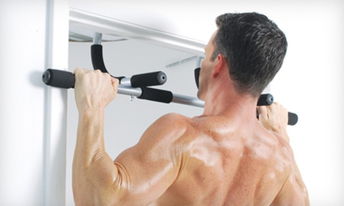 Iron Gym Pull-Up Bar with Ab Straps: $19 for an Iron Gym Pull-Up Bar with Ab Straps ($59.99 List Price)