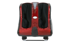 Shiatsu Foot, Calf, and Leg Massager with Heat