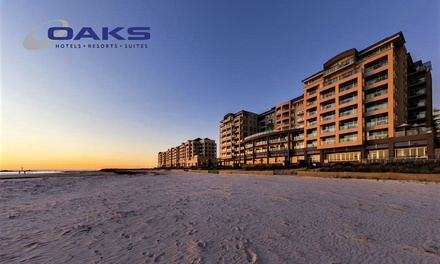 Glenelg, Adelaide: 2, 3, or 7Night Beach Holiday for Two or Four at the Oaks Plaza Pier