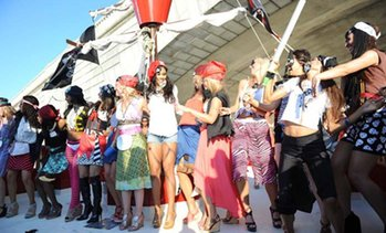 56% Off Pirate Ship Cruise Admission at Boomerang Pirate Ship