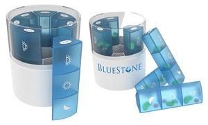 Bluestone 21-Compartment Daily Pill Organizer