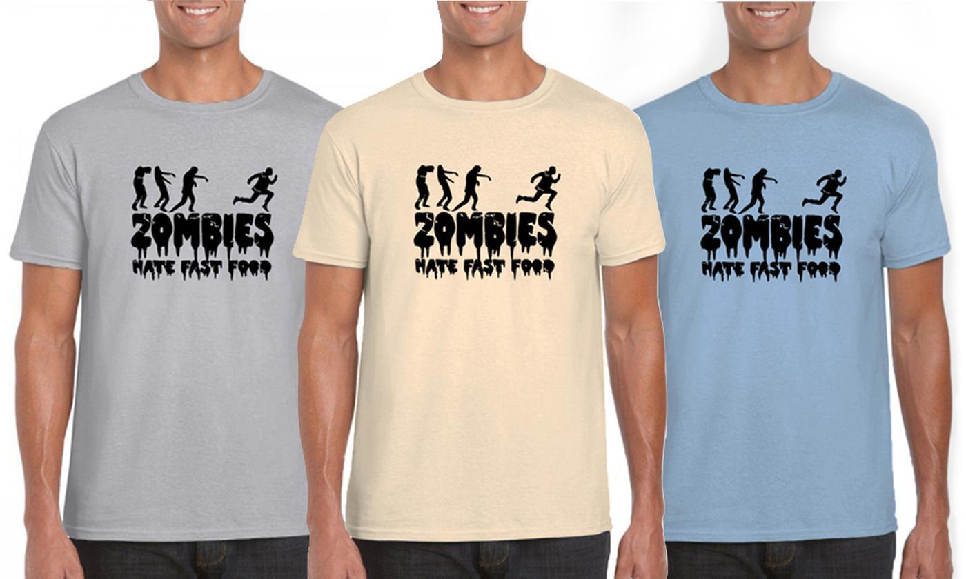 Mareno Men's Zombies Cotton T-Shirt