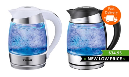 $34.95 for a Todo 1.8L Variable Temperature LED Glass Kettle Don't Pay $169