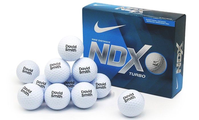 From $32.95 for Personalised Golf Balls or Bundle