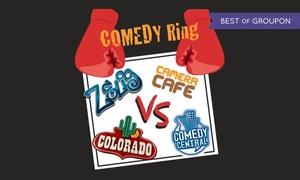 Comedy Ring, Teatro Pileo: Comedy Ring il 24 marzo al Teatro Pileo di Prata di Pordenone (sconto 40%)