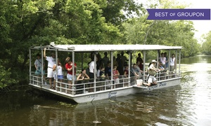 Cajun Pride Tours: Swamp Boat Tour  for One, Two, Four, or Six from Cajun Pride Tours (Up to 50% Off)