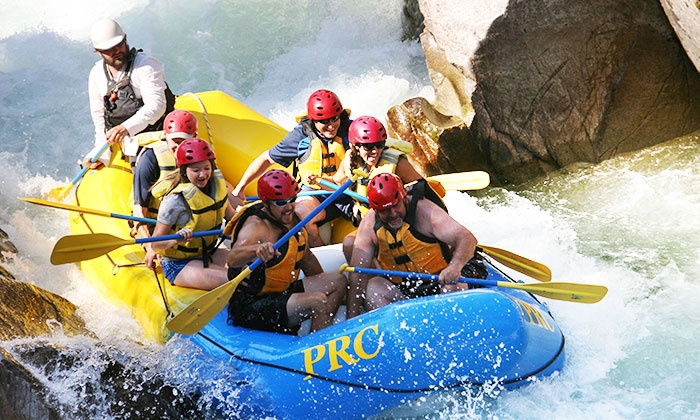 Payette River Company - Lowman: Half-Day Whitewater-Rafting Trip for One, Two, Four or Six from Payette River Company (Up to 52% Off)