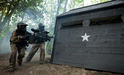 Paintball with 100 Balls and Light Lunch for Five, Ten or 15 at Paintball Networks, Multiple Locations (Up to 96% Off)