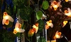 Honey Bee Solar Garden Lights