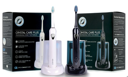 Crystal Care Plus Professional Sonic Toothbrush with UV Sanitizer