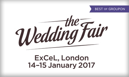The Wedding Fair at ExCeL London: Two Tickets, 14 15 January