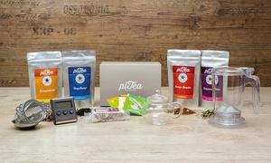 piTea: Tee-Geschenkbox (50% sparen*) oder Wertgutschein über 20 € anrechenbar auf das gesamte Sortiment bei piTea