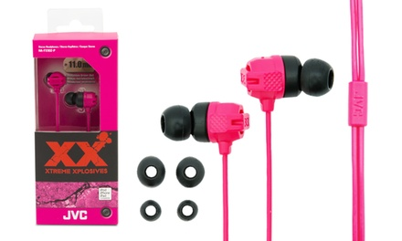 Auriculares JVC Xtreme Xplosives