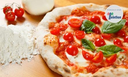 Menu pizza all you can eat con antipasto, dolce e birra da Ristorante Al Castello Mio (sconto fino a 67%)