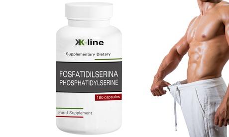 Fino a 720 capsule di Fosfatidilserina K Line Food Supplements per abbassare il cortisolo e perdere peso