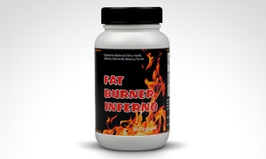 Fat Burner Inferno: Desde $239 por 1 o 2 quemadores de grasa Fat Burner Inferno