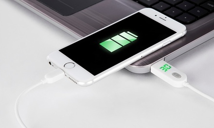 Cable para iPhone USB con temporizador