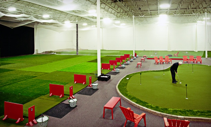 Minnesota Golf Academy - Eden Prairie: $75 for Five Hours of Indoor Driving Range and Short-Game Range Practice at Minnesota Golf Academy (Up to $150 Value)