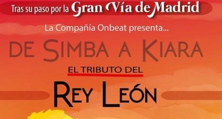 1 o 4 entradas generales para adulto y/o niño al musical Tributo a El Rey León 13 de julio desde 9 €en Cádiz