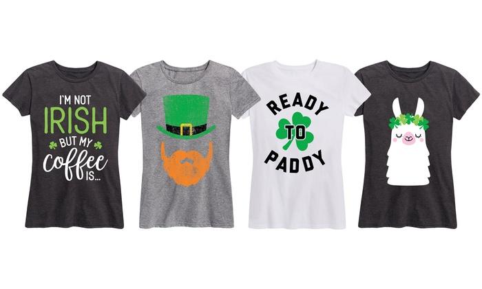b897efbe6 Up To 49% Off on Women's St.Patrick's Day T-Shirt   Groupon Goods