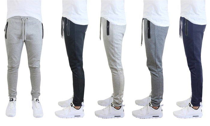 100% top quality Buy Authentic shop for genuine Up To 75% Off on Men's Jogger Sweatpants | Groupon Goods