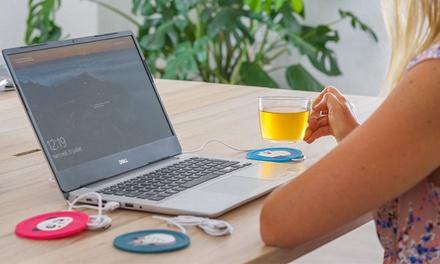 1 o 2 calienta tazas USB