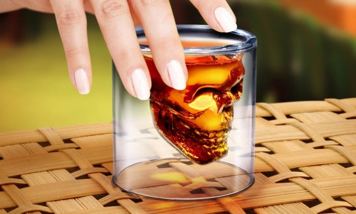 Think Global General Trading - Merchandising (AE): Doomed Skull-Filled Shot Glasses from AED 29 (Up to 82% Off)
