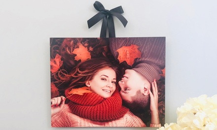 Personalized Shaped Metal Photo Prints from Picture It Custom (Up to 83% Off). Ten Options Available.