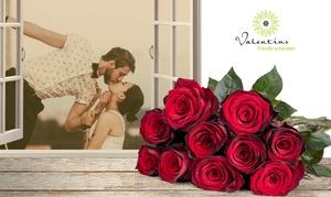 Valentins: Wertgutschein über 14,02 € anrechenbar auf das gesamte Blumen- und Geschenksortiment von Valentins