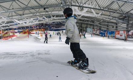 De Uithof: 2 uur skiën of snowboarden in Den Haag