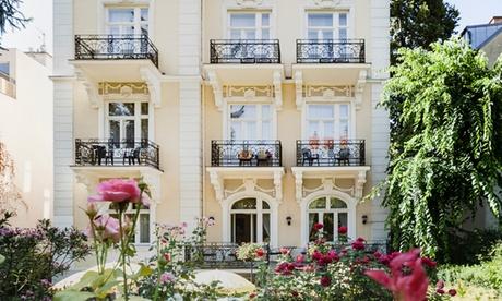 Viena: habitación doble para 2 personas con desayuno en Hotel Park Villa Jugendstil 4*