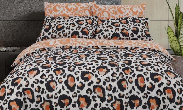 Copripiumino Zebrato Matrimoniale.Copripiumini Leopard Zebra Pegasus Groupon Goods