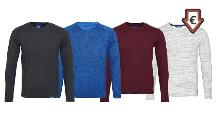 Groupon Goods Global GmbH: Tom Tailor-Pullover für Herren im Modell und der Farbe nach Wahl