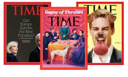 TIME Magazine 12, 26, 52 of 104 weken bij je thuisbezorgd, je abonnement stopt automatisch