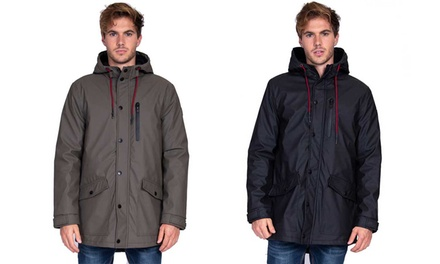 Men's Leerain Double Fleece Waterproof Parka