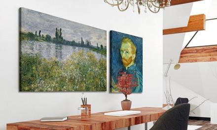 Reproductions d'œuvres d'art renommées dès 10,99€