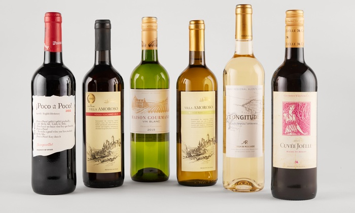Heartwood & Oak: Six Bottles of Premium European Wine and $50 Gift Card from Heartwood & Oak (64% Off)
