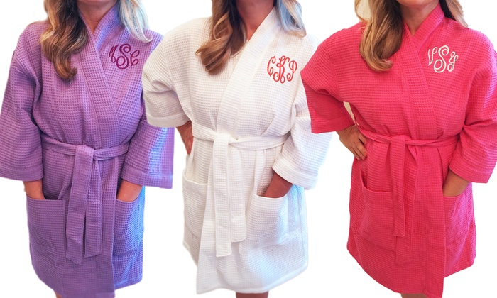 Personalized Bath Robes Embellish Accessories And Gifts Groupon