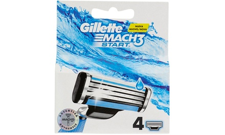 Lamette Gillette Mach3 Start