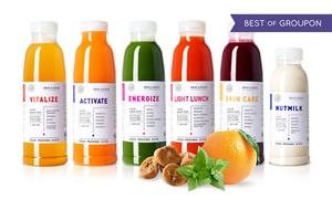 dean&david Superfood: Wertgutschein über 12,50 €, 30 € oder 40 € anrechenbar auf Juice Cleanses im Online-Shop von dean&david Superfood