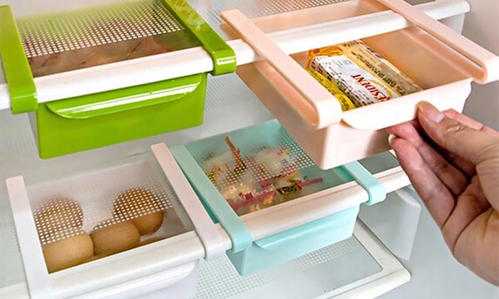 Kleiner Kühlschrank Ordnung : Bis zu 82% rabatt kühlschrank organizer groupon