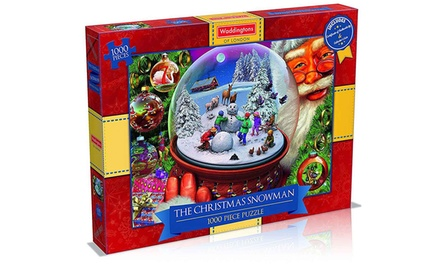 Winning Moves Waddingtons The Christmas Snowman 1000Piece Jigsaw Puzzle