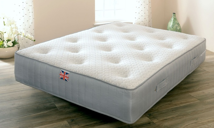 Manhattan Pocket Sprung, Memory Foam and Wool Mattress from £119 (88% OFF)