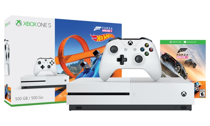 Xbox One S 500GB Console with Forza Horizon 3 and Hot Wheels Bundle: Xbox One S 500GB Console with Forza Horizon 3 and Hot Wheels Bundle