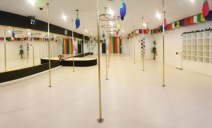 image for $49 for Five Weeks of Pole, Lyra or Sling Classes at iSpin Aerial Dance Studio, Phillip (Up to $125 Value)
