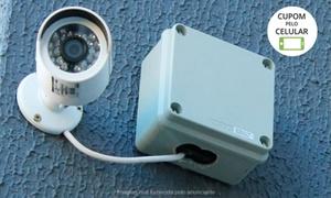 Space Tecnology: Space Tecnology – Santo André: instalação de kit com 2, 4 ou 8 câmeras