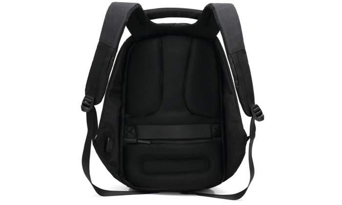Anti-Theft Backpack with USB Port  4c7336cd73ed8