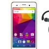 BLU Dash X2 8GB Smartphone with Sharkk Flex 2o Wireless Headphones
