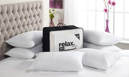Six John Cotton Relax NonAllergenic Pillows